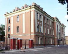 Dépendance du Siège des Officiers - Saint Petersbourg - Construit en 1908 par L. Benois.