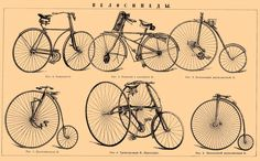 Vintage Bicycle Illustration - Best HOBBY Wallpapers