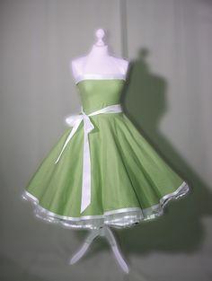 Petticoat Kleid rockabilly 50er Jahre Mode von Rockabillymode Kleider Brautkleider Petticoatkleider auf DaWanda.com // €80