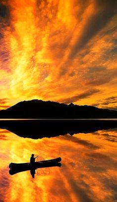 ^Lake Bennett, Canada