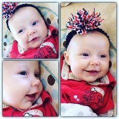 """I can't handle all the cuteness!☺   ツ ♡"" - Jessa (Duggar) Seewald about her newest neice born 7-19-15 #MeredithGraceDugger Josh & Anna (Keller) Duggar's 4th baby & 2nd daugher). #Duggars #Seewalds #Kellers #19KidsAndCounting"