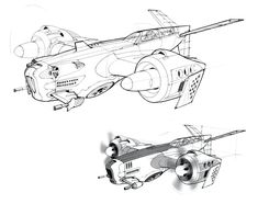 Video Game Vehicles - DRAWTHROUGH: the personal and professional work of Scott Robertson