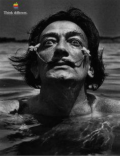 Salvador Dali by Macaholic, via Flickr