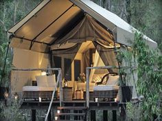 #treehouse #tents # outdoor living Cool Tree Houses Roof Tent Interior Design - GiesenDesign