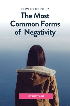 Learn how to stop letting negativity from taking over your life. Jay Shetty shares the 7 different types of negativity that can control your life. Jay shares simple tips to help us better deal with negativity when it appears. I'm Jay Shetty - an author, podcast host, former monk, and purpose coach. My vision is to make wisdom go viral in an accessible, relevant, & practical way. Positive Mindset, Positive Life, Love You Unconditionally, Removing Negative Energy, Train Your Mind, Negative People, Love Yourself First, That One Friend, Healthy Relationships
