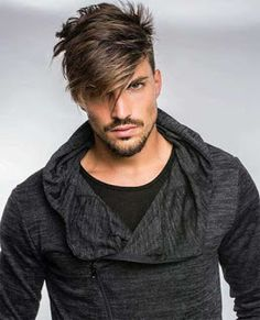 Have you ever checked out a model, singer or actress and think to yourself that it is a look that is not possible to attain? You can look great, too. Groom Hair Styles, Hot Hair Styles, Hair And Beard Styles, Modern Hairstyles, Popular Hairstyles, Moustaches, Hair Pictures, Hairstyles Pictures, Haircuts For Men