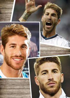 Sergio Ramos hairstyle
