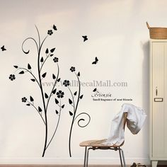 Sell Fragrance Of Neat friensia Wall Sticker – WallDecalMall.com Flower Room, Flower Wall Decals, Girl Nursery, Wall Sticker, Baby Room, Fragrance, Flowers, Google Search, Home Decor