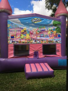 Shopkins bounce house Busy bees fl