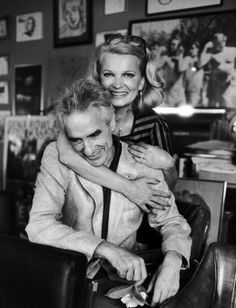 John Cassavetes and Gena Rowlands.