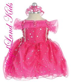 2a94b6b1f Affordable Baby Easter Dresses. Beautiful Baby Girls Easter Dresses Comes  in fuchsia or purple.