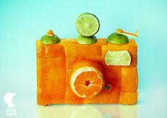Food Photography- Orange Camera - Fine Art Print - Conceptual Photography - Fruits - Vegetables-Kitchen Wall Art-Kitchen Modern Decor