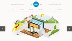 25 #Creative Portfolio Websites using #Illustration