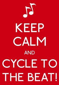"Or as we say at The Ryde Stronger Spining Studior ""RYDE THE RHYTHM""! #realryder #rydestronger #bikingworkoutrpm"