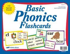 Basic Phonics Flashcards