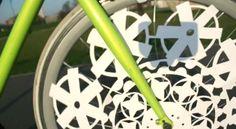Animation on a Bike