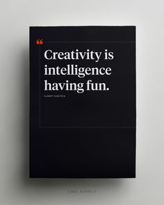 Creativity Poster - Available at linxsupply.com