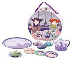 Amazon.com: Moulin Roty School Picnic Set Les Parisiennes: Toys & Games
