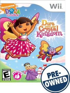 Dora the Explorer: Dora Saves the Crystal Kingdom — PRE-Owned - Nintendo Wii
