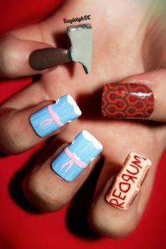 Shoot. I should have had Shining nails on my wedding day!