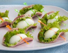 Party appetizers fingerfood Ideas for 2019 Snacks Für Party, Appetizers For Party, Appetizer Recipes, Egg Recipes, Salad Recipes, Cooking Recipes, Party Recipes, Catering, Comida Keto