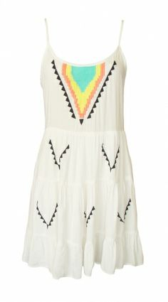 Adorable boho embroidered dress. Perfect coverup