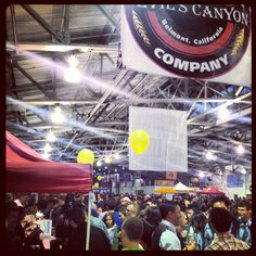 Game On! Our 11th year at the San Francisco International Beer Festival  #DevilsCanyon #CraftBeer #FortMason