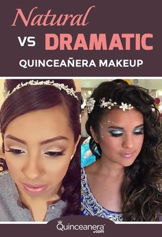 Before choosing what type of makeup to wear, consider your skin tone, the color of your dress and your hairstyle. - See more at: http://www.quinceanera.com/make-up/look-beautiful-the-day-of-your-quinceanera/?utm_source=pinterest&utm_medium=social&utm_campaign=make-up-look-beautiful-the-day-of-your-quinceanera#sthash.o5vD4tYT.dpuf