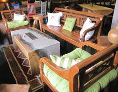 Brazilian Out Door Furniture – From Ranch Antiques Distinctive Sustainable Furniture Great Western, Western Style, Sustainable Furniture, Vaulting, Sustainability, Ranch, Toddler Bed, Yard, Outdoor Furniture