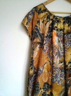 Kleid mit Jungleprint, Detail