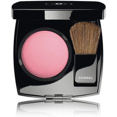 CHANEL JOUES CONTRASTE - COLLECTION LA PERLE DE CHANELPowder Blush -... found on Polyvore