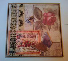 Madame Payraud Demo card | docrafts.com