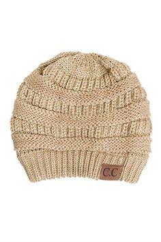 60095c89576e5 Cc solid knit beanie