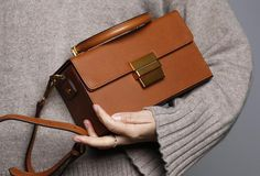 Genuine Leather Cute Cube Box Handbag Crossbody Bag Shoulder Bag Women