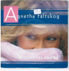 Agneta Fältskog I want let you go  7:Inch