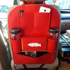 Auto Car Storage Bag Car Seat Multi Pocket Travel Storage Bag Hanger Car Styling Back Car Seat Cover Organizer Holder Backseat