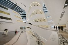 Zaha Hadid, Library and Learning Center, Vienna, 2013