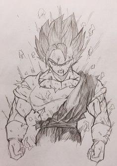 Dragon Ball Gt, Dragon Z, Goku Drawing, Ball Drawing, Fan Art, Dbz Drawings, Super Manga, Anime Sketch, Animes Wallpapers