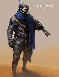 "Dune Concept Art - Sardukar ""I have promised the Baron five legions of my Sardukar terror troops."" Padishah Emperor Shaddam IV"