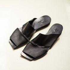 2c288ee4aff Black sandals   Black Leather women sandals   by WalkByAnatDahari Open Toe  Sandals