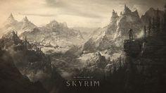 Scenic Overlook (Ancient), Skyrim wallpaper