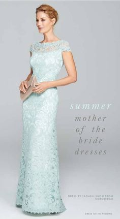 Mother Of The Bride Dresses For Summer Weddings