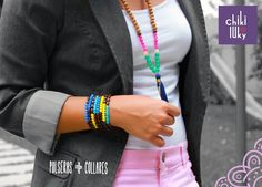 Para la Mami Trabajadora y siempre al día con la moda. Que tal este #LookChikiluky??   #RegalosParaMama #BohoChic #CollaresChikiluky #PulserasChikiluky #lookoftheday #momlife #momsday #WellnessWednesday #felizdia #ootd #Fashion #diadelasmadres #Amor #RegalaChikiluky #Fashion #Venezuela #Mexico #Chile #Colombia