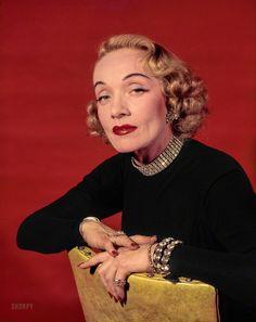 Marlene Dietrich 1952 Look Magazine