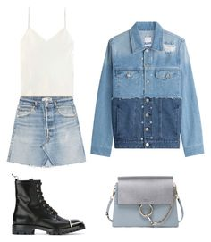 """""""Untitled #234"""" by nailya-s ❤ liked on Polyvore featuring SJYP, Alexander Wang, Chloé, Calvin Klein Collection and RE/DONE"""
