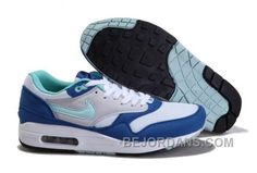 http://www.bejordans.com/free-shipping6070-off-canada-2014-new-nike-air-max-87-men-shoes-online-white-blue-kd56x.html FREE SHIPPING!60%-70% OFF! CANADA 2014 NEW NIKE AIR MAX 87 MEN SHOES ONLINE WHITE BLUE KD56X Only $92.00 , Free Shipping!