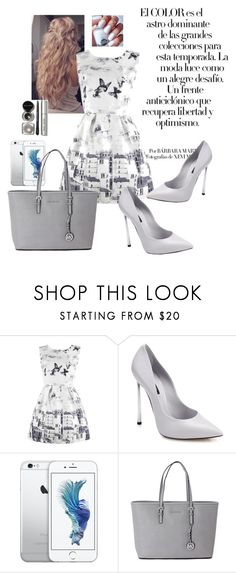 """Butterfly"" by geniiie ❤ liked on Polyvore featuring Arco, Casadei, Michael Kors and Bobbi Brown Cosmetics"