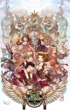 tree of savior artwork - Google Search