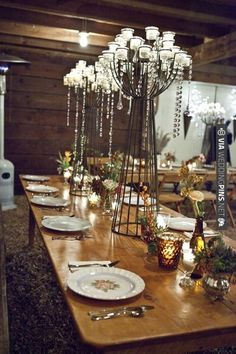 rustic vintage table decoration ideas | CHECK OUT MORE IDEAS AT WEDDINGPINS.NET | #wedding