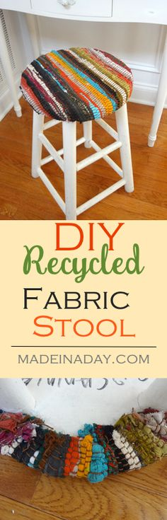 Recycled Fabric Stoo